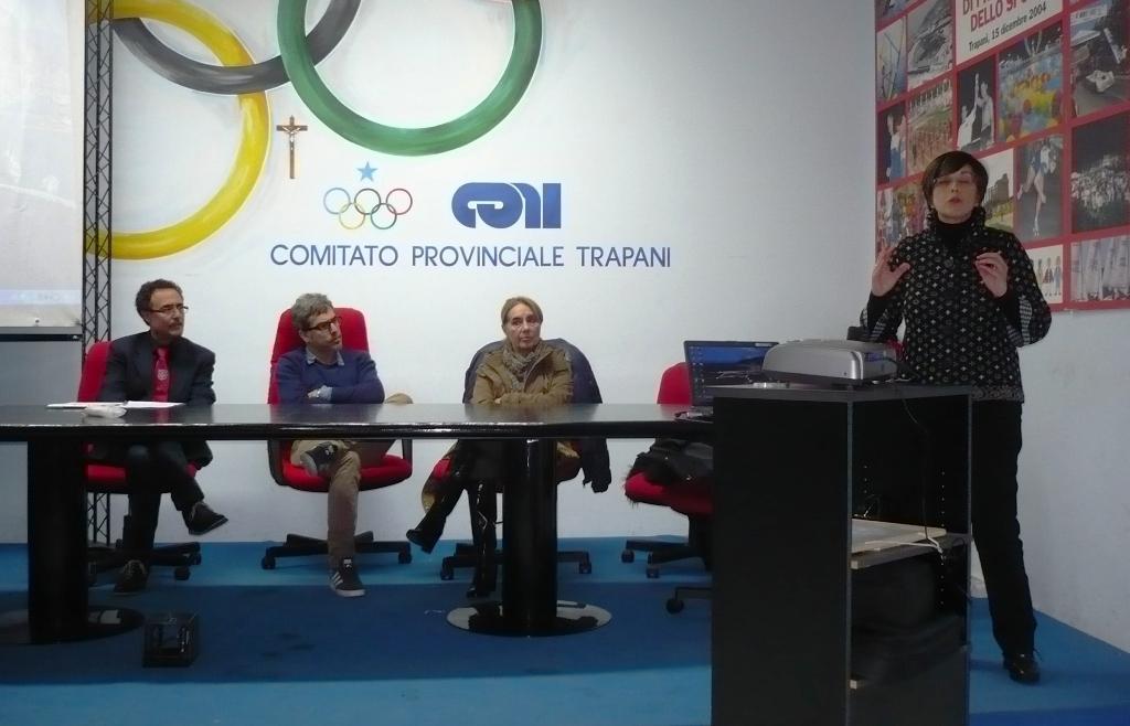 da sin. dott. Giacomo Rodriquenz, dott. Arturo Sala, dott.ssa Luisa Sala, dott.ssa Francesca Margagliotti.