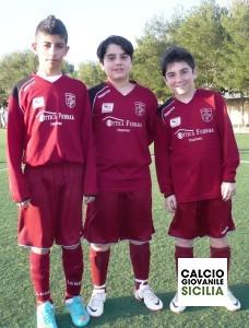 Angelo Floreno, Dario Battiniello e Alessio Maggio.