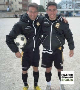 Enrico Colomba e Matteo Giurlanda della Juvenilia .