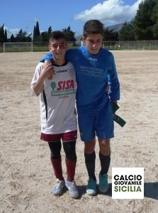 I due Capitani, Vincenzo Braschi e Amedeo Evola Adelkam-Città di Trapani Giovanissimi Sperimental .