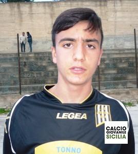 Marco Rodriquenz della Juvenilia Allievi Regionali. .
