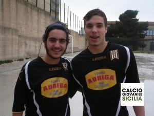 Mario Savona e Ciccio Graziano della Juvenilia .
