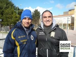 Mister Lo Piccolo e Mister Cortis.