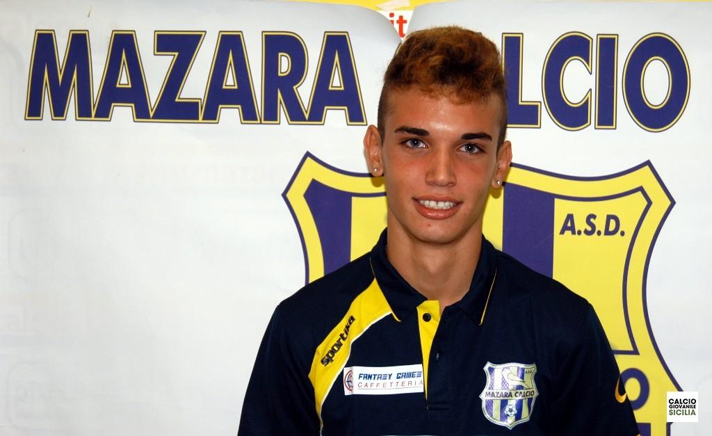 Alessio Brignone 96 Mazara calcio allievi