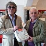 Defibrillatore in regalo per il Città di Trapani Calcio da un imprenditore.
