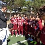 Visita dei Tecnici della AS Roma alla Scuola Calcio Asd Città di Trapani.