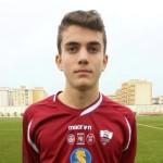 Simone Castiglia: Nei Giovanissimi Nazionali del Trapani Calcio.