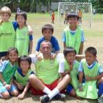 Primo mister italiano, nella prima scuola calcio nelle Isole delle Filippine.