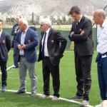 Visita dei Tecnici dell'AS ROMA alla Scuola Calcio Asd Città di Trapani.