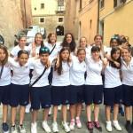 Rappresentativa Femminile Under 15: ottimo 4° posto finale.
