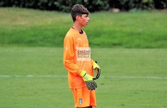 Alessandro Russo con la maglia dell'ITALIA