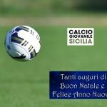 Buone Feste dal calciogiovanilesicilia.