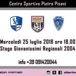Calcio Sicilia – stage gratuito Giovanissimi Regionali 2004